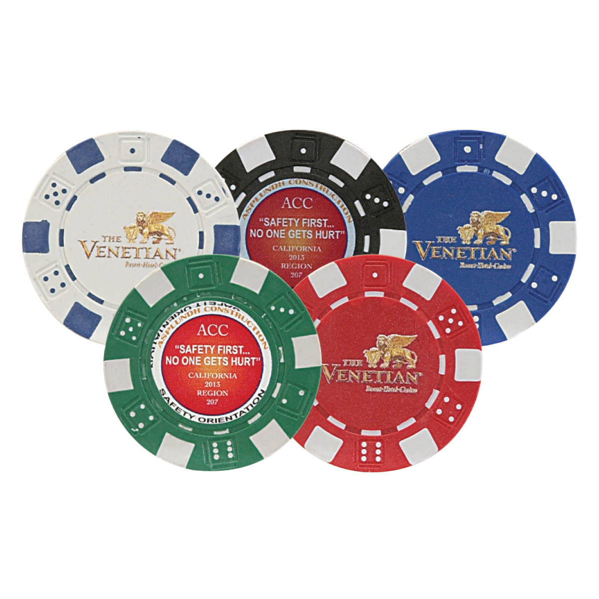 available colors - Clay Poker Chips